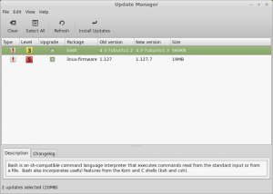 Bash update in Linux Mint with ShellShock patched