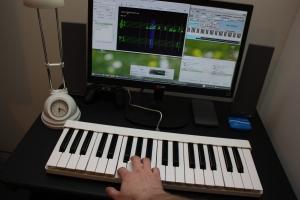 Midiplus GarageKey 37 key MIDI klaviatūra