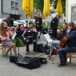 Gatvės muzikos diena 2015 Vilniuje: styginių kvartetas