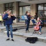 Gatvės muzikos diena 2015 Vilniuje: styginių kvintetas