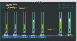 Enable digital auio input using AlsaMixer