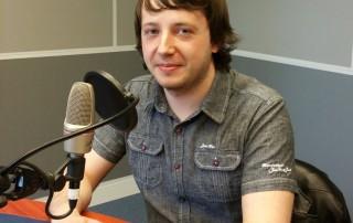 Gytis LRT radijo studijoje