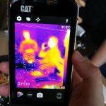 """Terminė nuotrauka išmaniuoju telefonu """"Cat S60"""""""