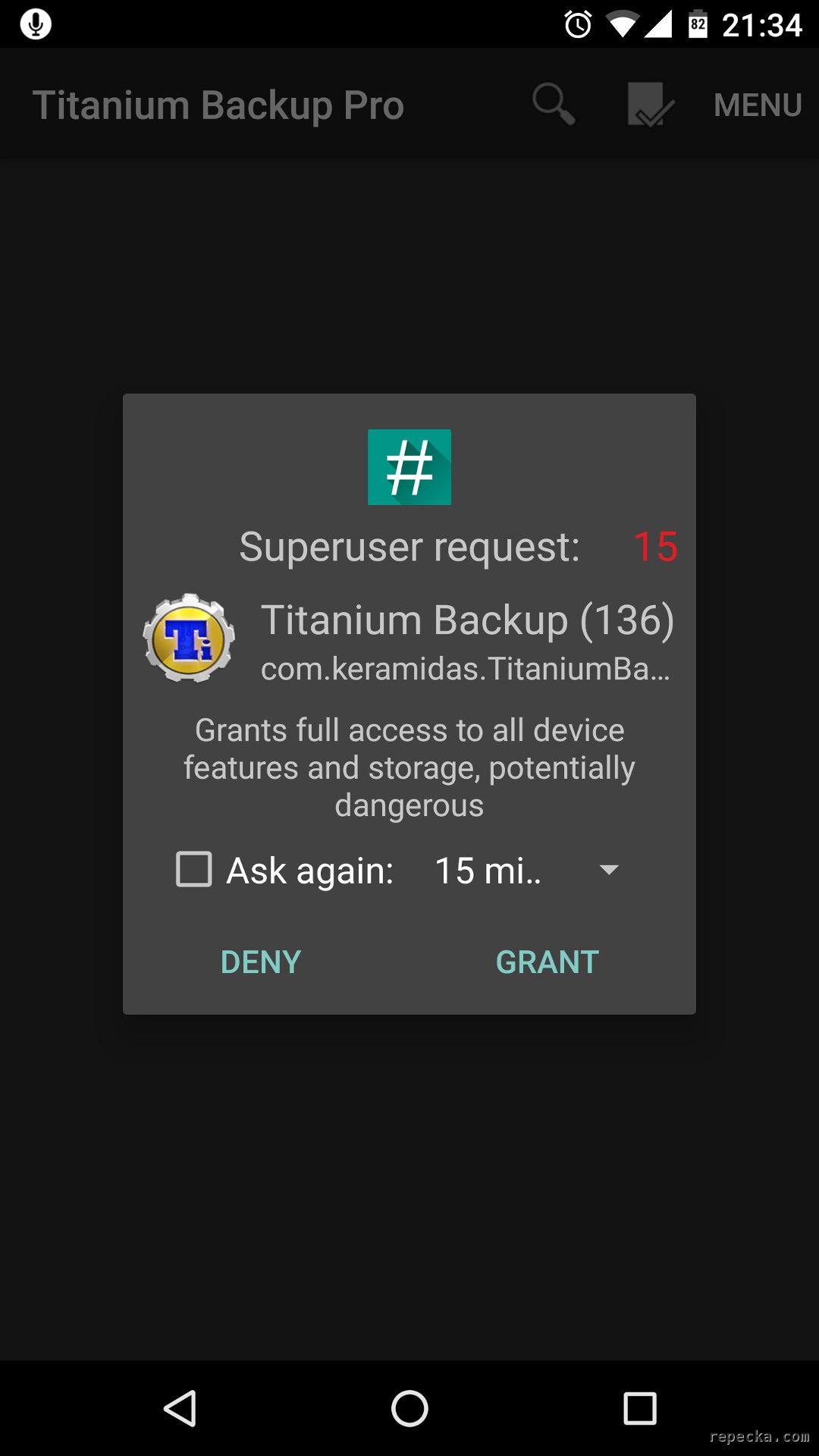 How to root Motorola Nexus 6 (Shamu) - Gytis Repečka