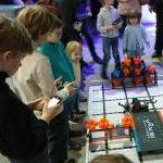 Robotiada 2017: Vex robotai