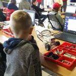 Robotiada 2017: Lego programuojamų robotų konstravimas
