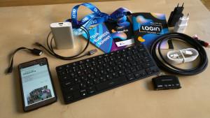 "Gyčio technika ""Login 2017"" konferencijai"