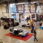 "Comic Con Baltics 2017: ""Atgal į ateitį"" automobilis DeLorean"