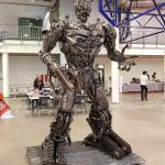 Comic Con Baltics 2017: robotas transformeris