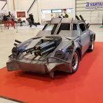 Comic Con Baltics 2017: Porsche 911 iš Death race