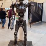 Comic Con Baltics 2017: robotas Terminatorius