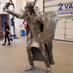 Comic Con Baltics 2017: skulptūra