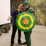Comic Con Baltics 2017: Gytis ir Kapitonas Lietuva